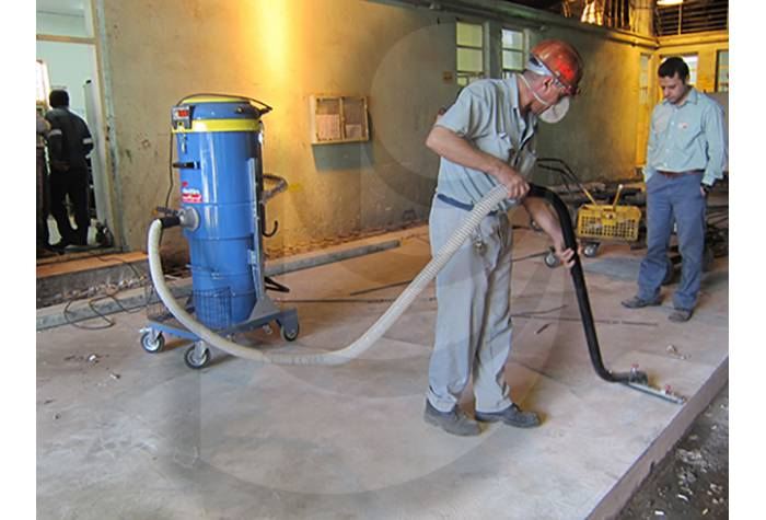 removing the dirt from surfaces by vacuum cleaner