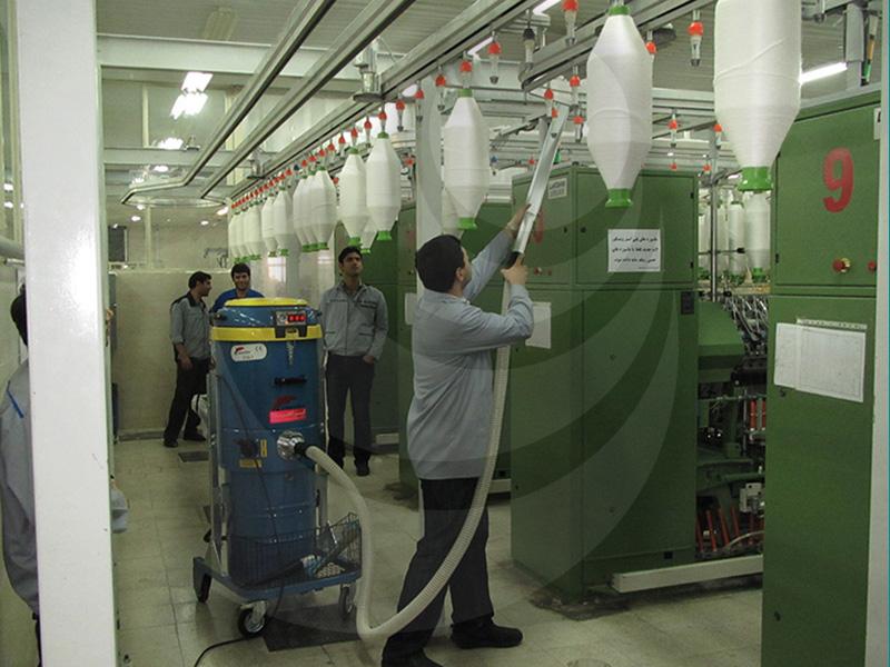 کاربرد جاروبرقی در صنعت نساجی