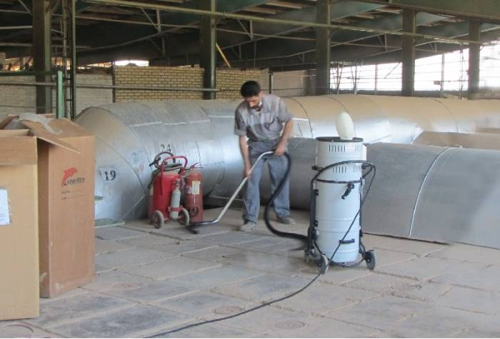 دستگاه جاروبرقی صنعتی