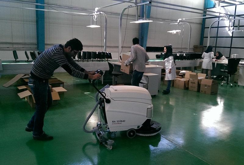 دستگاه اسکرابر آنتی باکتری  RA 55B40 noBACال