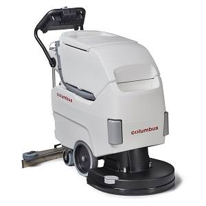 IND floor cleaning machine  - walk-behind scrubber dryer-RA55B40noBAC - RA55B40noBAC
