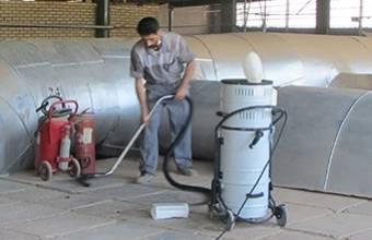 جاروبرقی دائم کار - Continuously duty vacuum Cleaner
