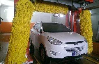 کارواش اتوماتیک سواری شوی - Urban automatic car wash