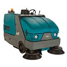 سویپر صنعتی سخت کار - heavy-duty floor sweeper