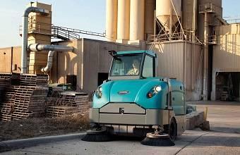 جاروی خیابانی سخت کار - heavy-duty floor sweeper